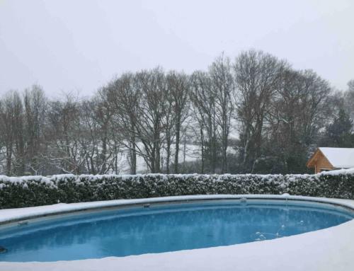 La maison blanche comme la neige!!