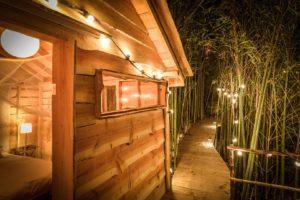 EtxeXuria-cabane bambou nuit ext