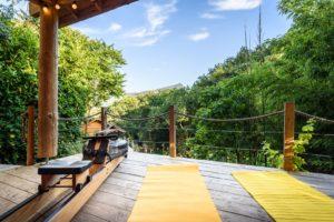 EtxeXuria-cabane terrasse fitness vue Rhune